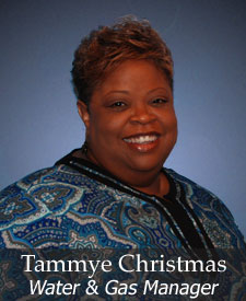 Tammye Christmas, Office Manager