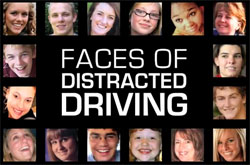 Faces of Distracted Driving