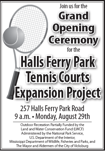 tennis court opening