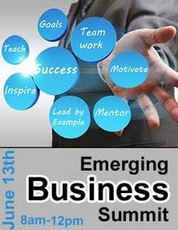 Emerging Business Summit Banner