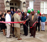 Aeolian Ribbon Cutting