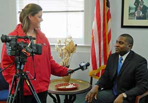 Mayor Paul Winfield Sportsplex Interview