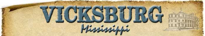 Vicksburg Newsletter Header