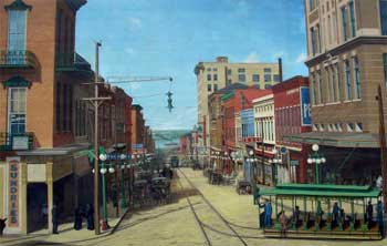 Washington Street Mural c. 1912